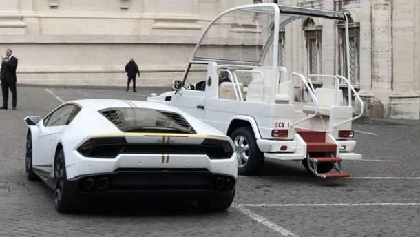 Lamborghini Huracan для Папи Франциска