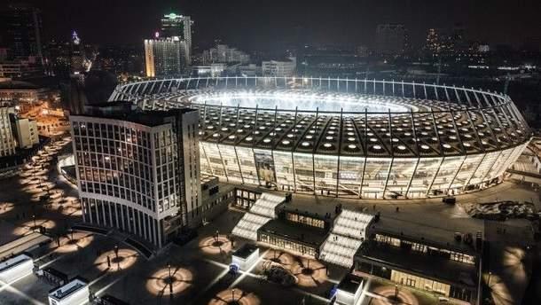 Фінал Ліги Чемпіонів відбудеться на НСК