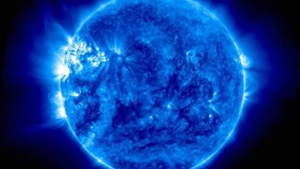 NASA опубликовало видео с голубым Солнцем