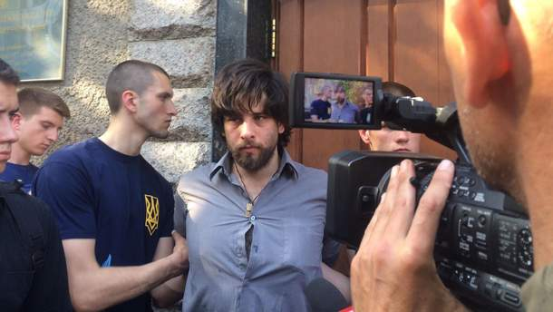 Націоналісти у Києві затримали найманця Лусваргі, який воював за