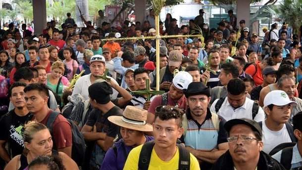 Беженцы из Гондураса