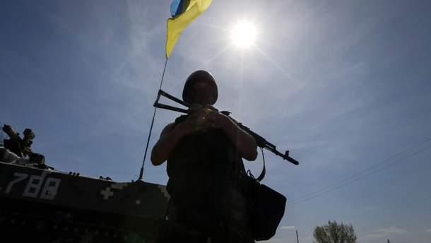 Украинские военные взяли в плен российского боевика