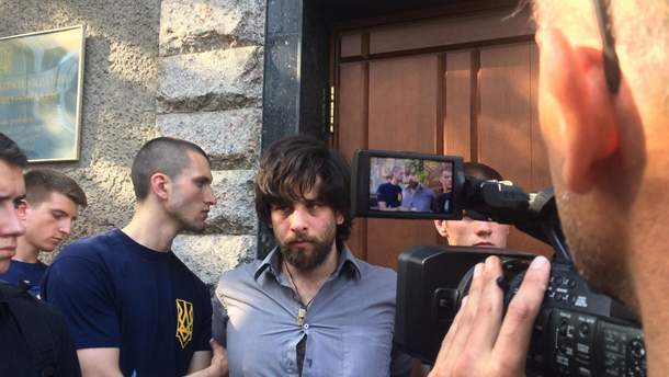 Бразильського найманця Рафаеля Лусваргі затримали 4 травня у Києві