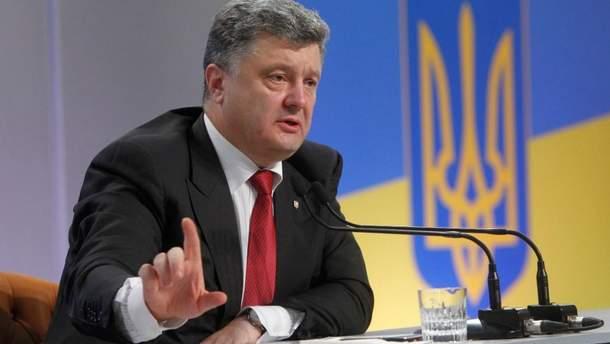 Порошенко вважає, що санкції проти Росії можуть посадити її за стіл переговорів