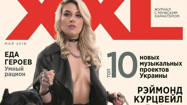 Ольга Харлан снялась для мужского глянца