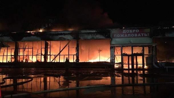 Пожар в российском ТРЦ в Ноябрьске