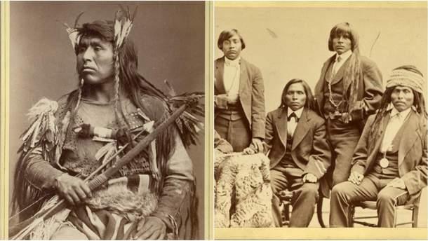 Як виглядало корінне населення США кінця XIX століття