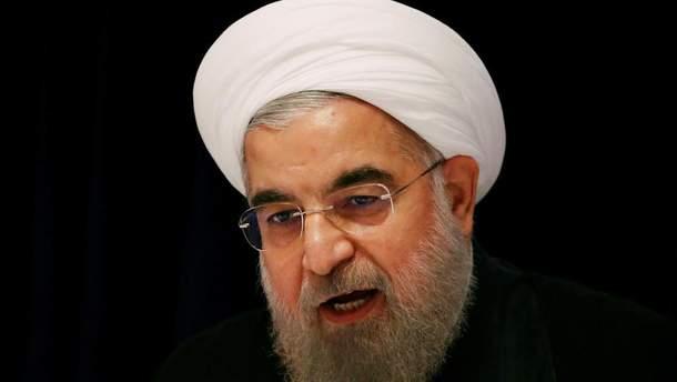 Погрози президента Ірану Рухані щодо виходу США з угоди по атому