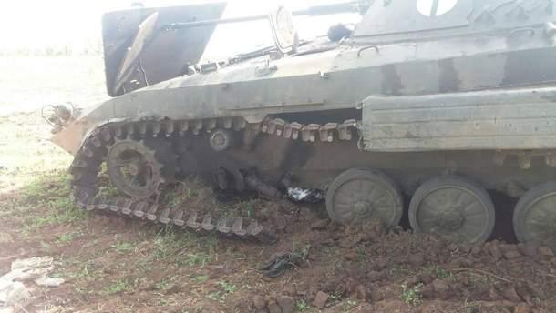 Бій на Донбасі