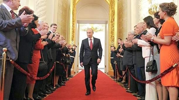 Пєсков розповів про сценарій інавгурації Путіна