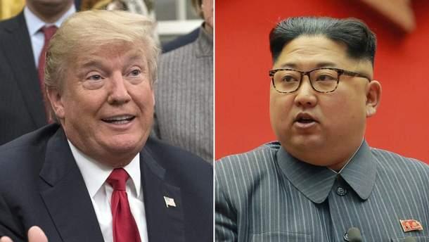 Зустріч Трампа та Кім Чен Ина може відбутись у Сінгапурі