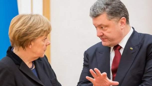 Порошенко зустрінеться з Меркель, Макроном та Туском: відома дата