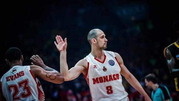 Баскетбол: украинец Гладырь стал лучшим игроком финала Лиги чемпионов ФИБА