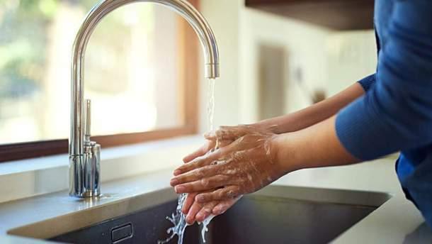 Навіщо мити руки
