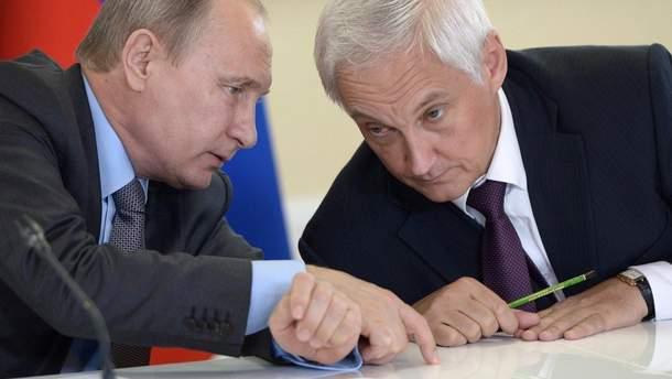 Путін може призначити своїм віце-прем'єр-міністром Андрія Бєлоусова