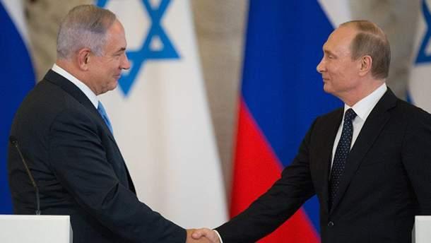 Нетаньягу та Путін 9 травня зустрінуться у Москві