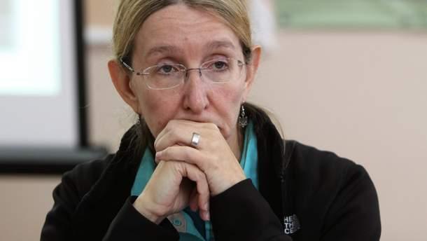 в.о. Міністра охорони здоров'я України Уляна Супрун