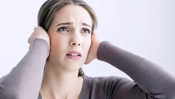 Шум в ушах (иллюстрация)