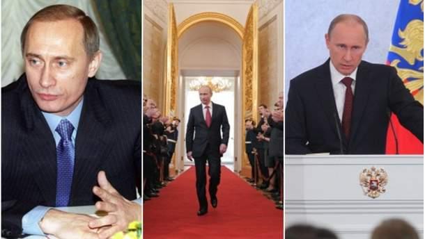 Без первой леди России: эволюция инаугураций Путина
