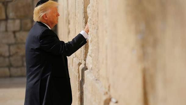 Трампа не будет на открытии посольства США в Иерусалиме