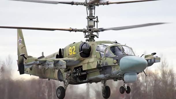 У Сирії розбився російський вертоліт Ка-52