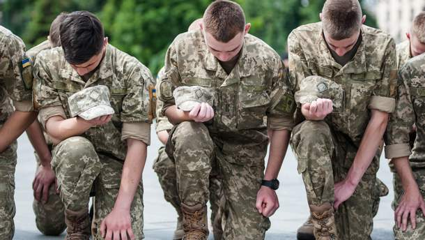 За 4 года войны Украина потеряла более 3 тысяч военных
