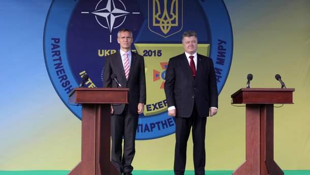 Відносини Україна – НАТО