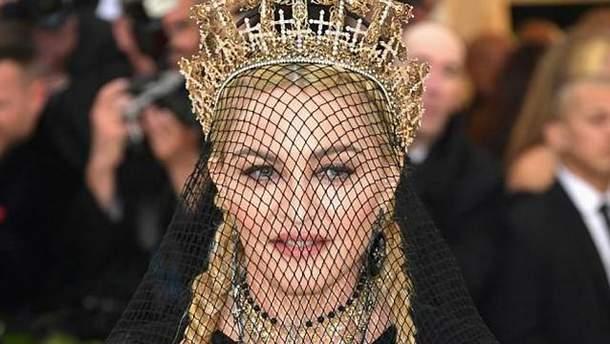 Мадонна на Met Gala