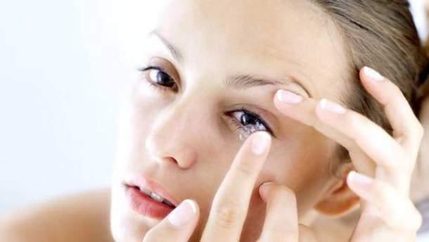 5 поширених помилок при носінні контактних лінз