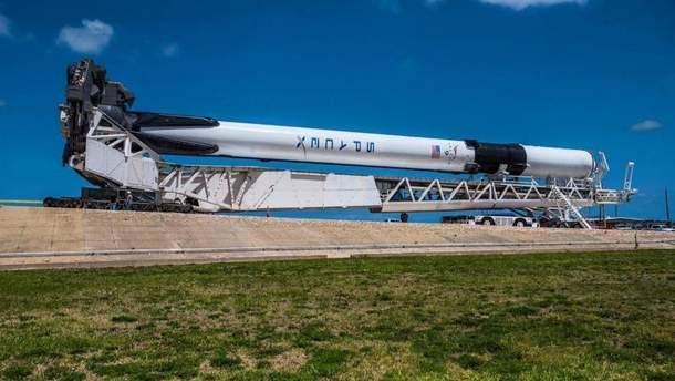 SpaceX призначила нову дату запуску ракети Falcon 9 Block 5