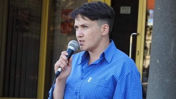 Надія Савченко вимагає забезпечити їй умови виконання обов'язків нардепа