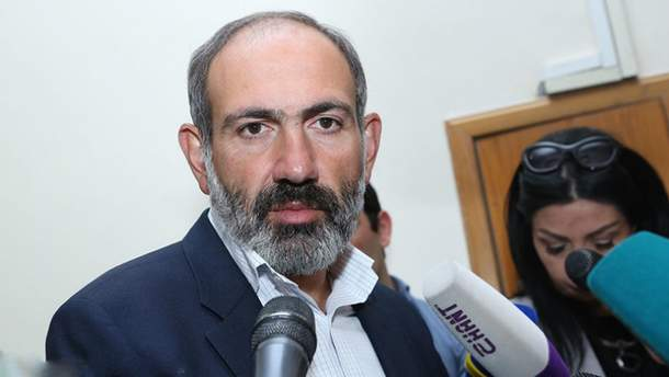 Новоизбранный премьер-министр Армении Никол Пашинян