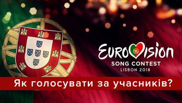 Євробачення 2018: як голосувати