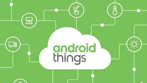 Google презентувала нову операційну систему Android Things
