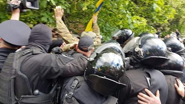 Столкновения на День победы в Днепре в 2017 году