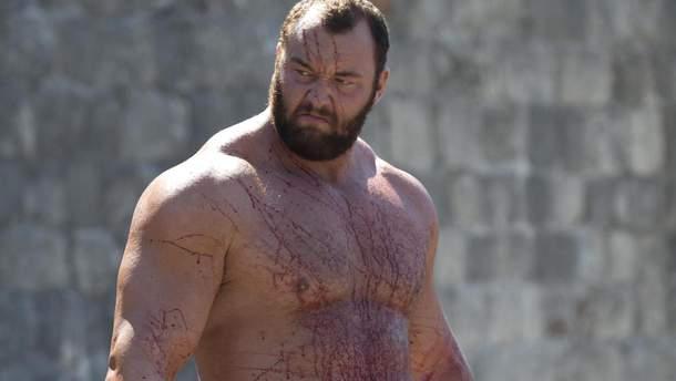 """Грегор Кліган з """"Гри престолів"""" став найсильнішим чоловіком планети"""