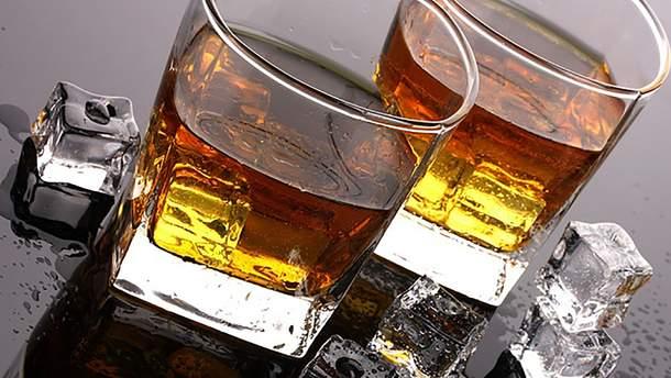 Виски со льдом