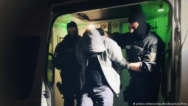 Полицейский рейд в Гамбурге