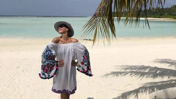 Катя Осадчая показала очаровательные фото с отдыха