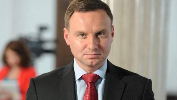 Президент Польщі розгляне питання анексії Криму на засіданні Радбезу ООН