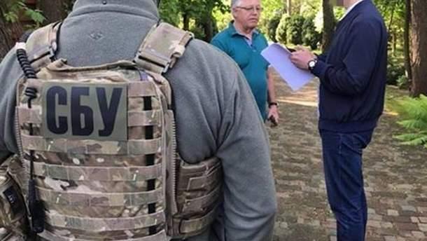 Обыски у Симоненко