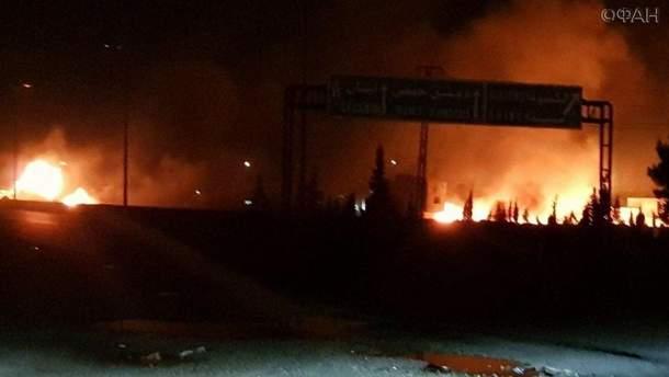 Израильская армия нанесла удар по Сирии