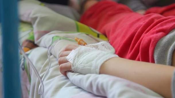 11 пострадавших в Черкассах детей до сих пор остаются в реанимации