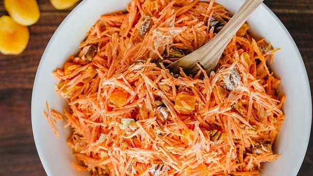 Салат з моркви