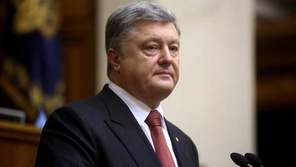 """Порошенко заявил, что """"Бессмертный полк"""" является пропагандой Кремля"""