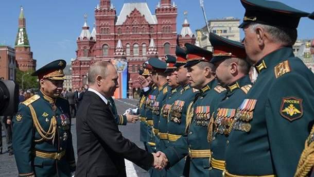 Парад Победы в Москве прошел 9 мая 2018