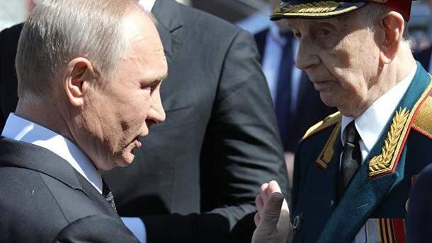 Путіна вибачився перед ветераном, якого жорстко відштовхнув його охоронець