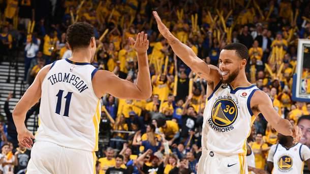 """""""Голден Стейт"""" вийшов у фінал Західної конференції NBA"""