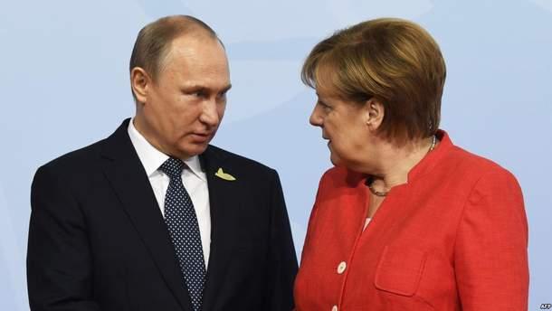 Путін і Меркель обговорять важливе питання для України