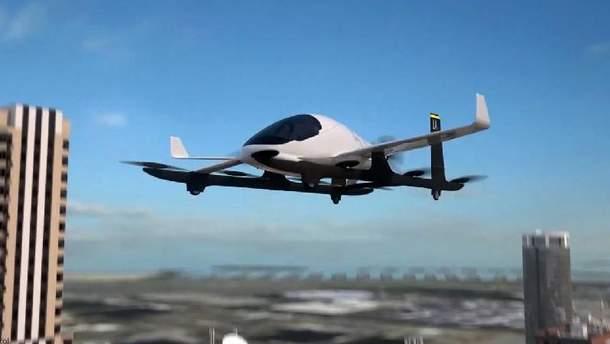 Uber показал прототип первого летающего такси